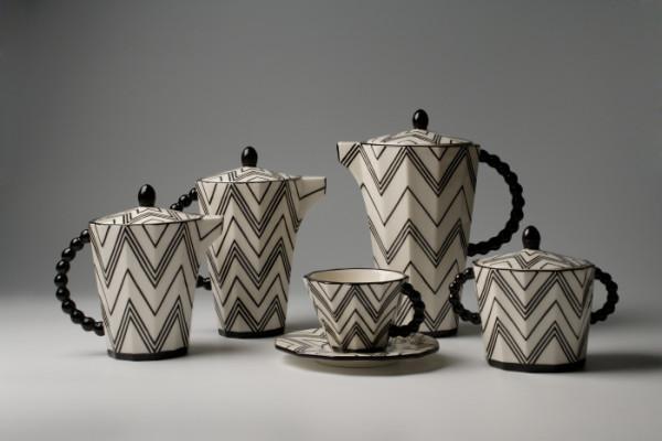 Kávový / Čajový set Pavla Janáka z roku 1911
