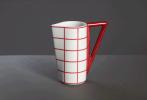 Červený  kávový a čajový  soubor