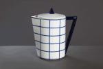 Modrý kávový a čajový  soubor